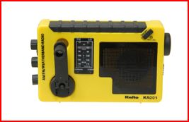 kaito weathermate radio