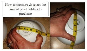 measuring your bowl